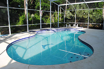 Private South Facing Pool.