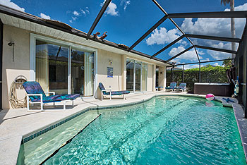 Screened Pool / Spa and Deck