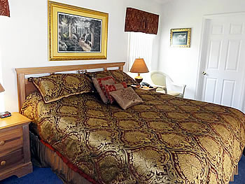 Master Bedroom with King Bed and En-Suite