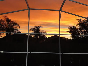 Enjoy the Sunrise from the Deck at Florida Hills