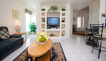 Our spacious Family Room