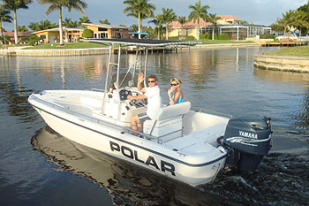 Boat - 23ft Polar