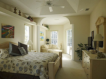 Extra large Master Bedroom with retreat area