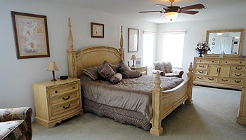 Master King Bedroom Suite