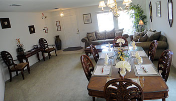 Formal Lounge & Dining Area