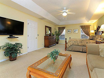 Master bedroom with 47