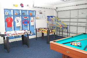 Fully Equipped 'Champs' Games Room