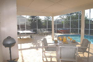 South Facing Pool, Spa Hot Tub, Table Tennis, Lanai with Table & Chairs, BBQ