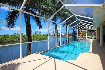 Gulf Access Waterway with Boat Dock, Private Pool & Spa