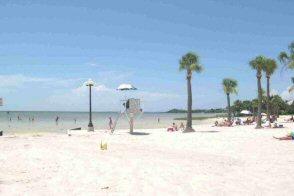 Local beach, Pine Island