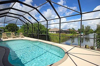 Private Pool with Boat Dock - Gulf Access Tropical Waterway