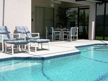 Your own private heated south facing pool